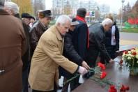 Митинг, посвященный Дню Октябрьской революции
